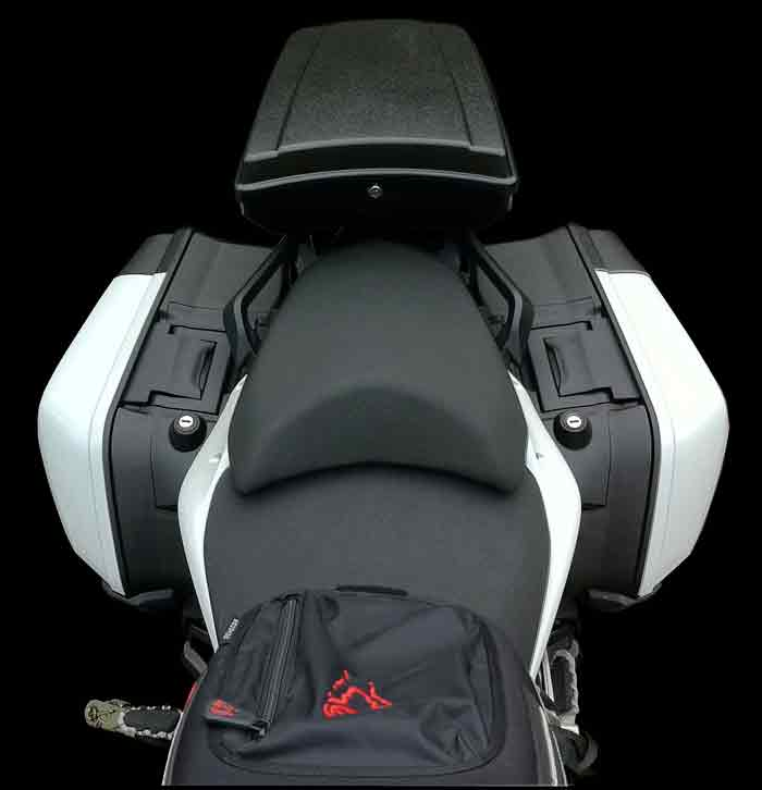 The TailGunner Ducati Top Case Multistrada 1200